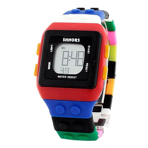 fee252173633 SHHORS Reloj Digital con Cronómetro