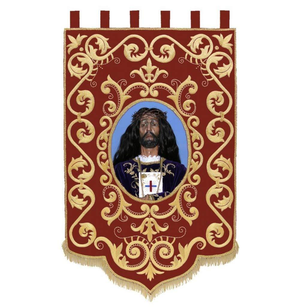 Estandarte personalizado con imagen religiosa: Amazon.es: Handmade