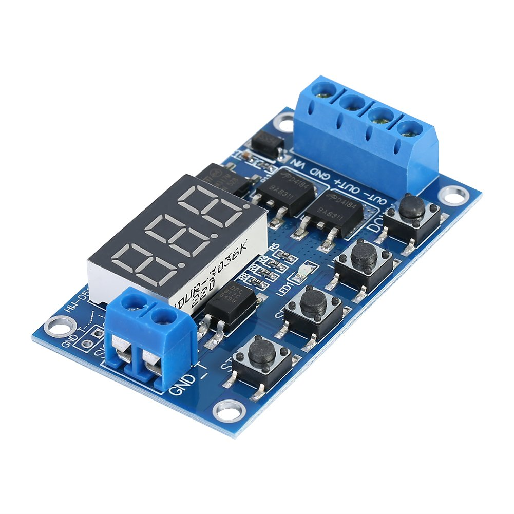 Ac 220v H3y 2 Power On Time Relay Delay Timer 0 60s Dpdt Wbase Digital Stopwatch 060sec Circuit Dc 5 36v Led Board Dual Mos Trigger Cycle Timing Switch