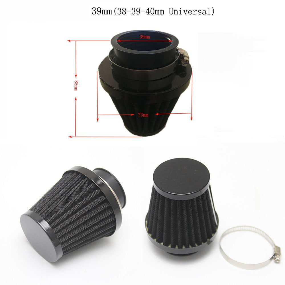 ViZe Air Filters Universal For Motorcycle 35 mm (For Inlet 34-35-36 mm)
