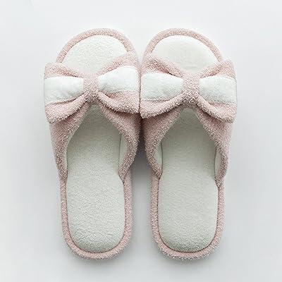 ZZHF Pantoufles de femmes pantoufles femme Pantoufles d'été à l'intérieur des pantoufles Accueil pantoufles mignonnes (3 couleurs en option) (taille facultative) chaussons ( Couleur : C , taille :