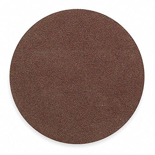 16'' Coated PSA Sanding Disc, 120 Grit, Non-Vacuum, Medium Grade, Aluminum Oxide 1, EA