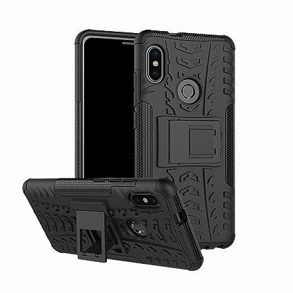 Funda Xiaomi Redmi Note 5 Pro, Carcasa Protectora Antigolpes Armadura Doble Capas a Prueba de Choques Caída Protección Robusto Case con Soporte para ...