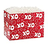 Large XOXO Basket Boxes - 10 1/4 x 6 x 7 1/2in. - 30 Pack