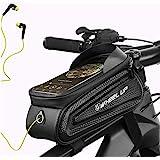 Fdrirect Bolsa Impermeável de Celular Para Bicicleta, Preto