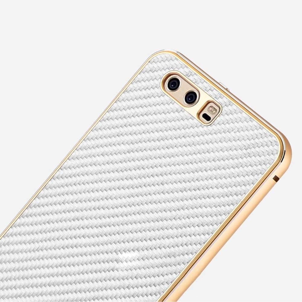 ACHAOHUIXI Huawei P10、P10プラス、P9、P9プラス、Mate10、Mate10 Pro用携帯電話ケース3dカーボン ファイバー電話カバー電話ケース (Color : ゴールド, Edition : Mate10 Pro)