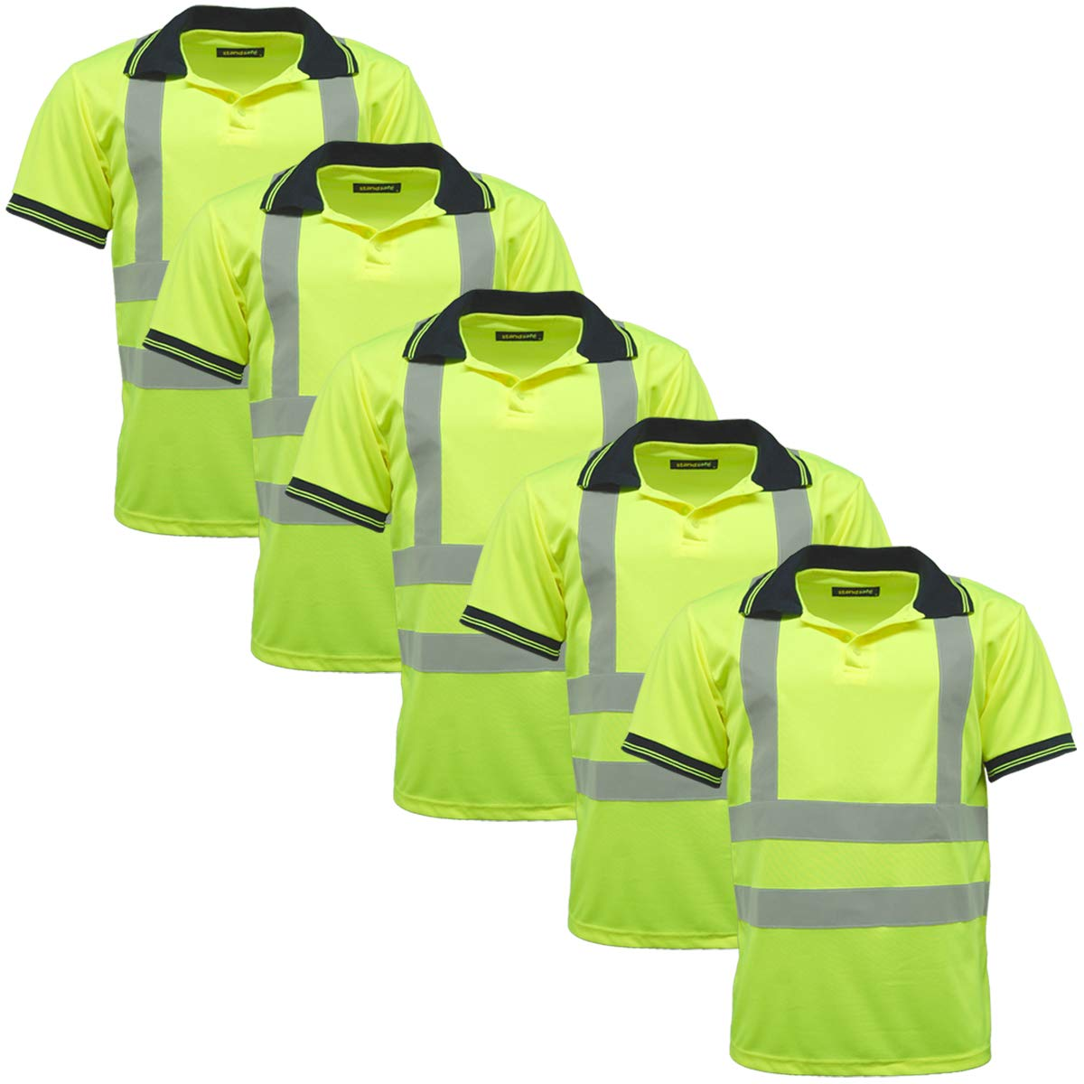 StandSafe Tops de Trabajo Reflectantes de Alta Visibilidad ...