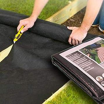 Barrière contre les mauvaises herbes couvre-sol - Tissu pour ...