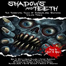 Shadows and Teeth: Ten Terrifying Tales of Horror and Suspense Audiobook by Antonio Simon Jr., Ramiro Perez de Pereda, Guy N. Smith, Adam Millard, David O. Hughes, Nicholas Paschall Narrated by Wyatt S. Gray