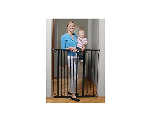 This Baby Gate Features An Easy To Walk Through Design In A Stunning Black  Pearl Finish That Looks Beautiful In Any Home. It Features An Extra Tall 41  Inch ...