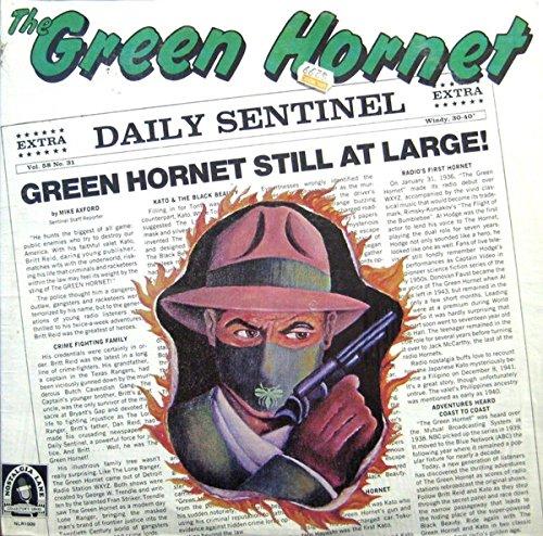 The Green Hornet Label: Nostalgia Lane - NLR1009 Radio 1977 - The Dragon Bruce Lee On Rear Cover As Kato 12