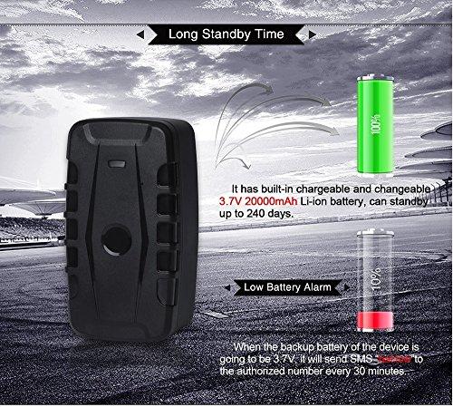 3G GPS Tracker Car Tracking Device Vehicle GPS Tracker Magnetic WIFI GPS Locator 20000mAh Battery Waterproof IP67 Prazata (3G Tracker 20000mAh Battery) by Prazata (Image #5)