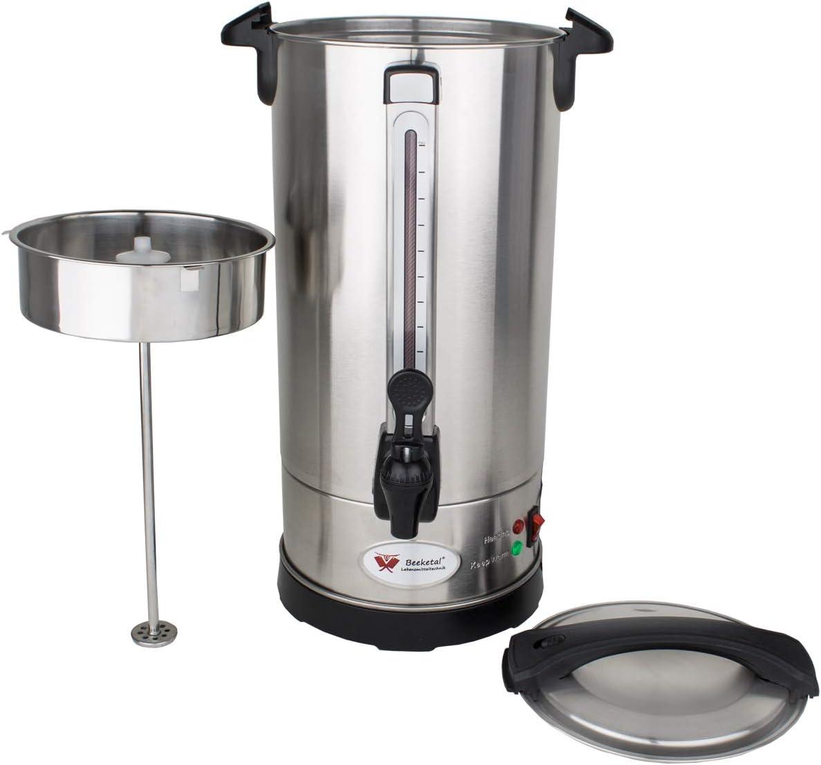 Beeketal 'BGK9' Gastro Rundfilter Kaffeemaschine - Filterkaffeemaschine