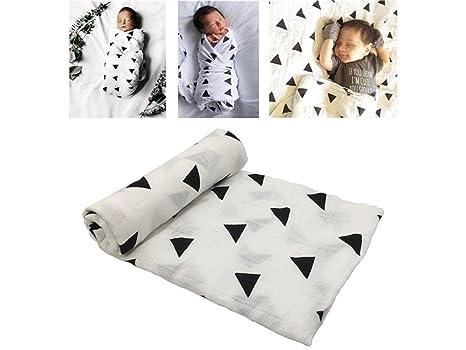 Rosetreee Facecloth cómodo Bebé de Dibujos Animados de impresión con Capucha Toalla de baño Capa Recién