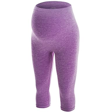 c4543991a2543 LWJ 1982 Maternity Workout Clothes Yoga Pants Leggings Capri Over Belly  Automatic Pregnant Exercise Fitness Activewear at Amazon Women's Clothing  store: