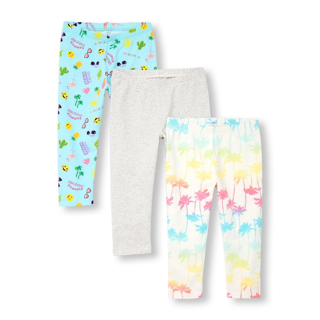 The Children's Place Big Girls' Fashion Leggings, Simplywht 00909, L (10/12)