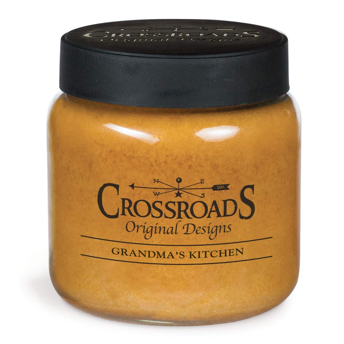 Crossroads Candle 16 Ounce Jar Candle Grandmas Kitchen
