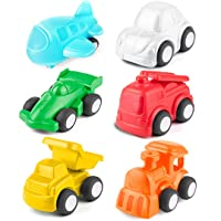 Deals on 6-Pack HISTOYE Toddlers Cars Toy Trucks
