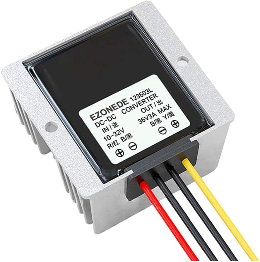 STEP-UP Transformer 12V//24V to 32V 4A 128W DC Power Converter Voltage Regulator