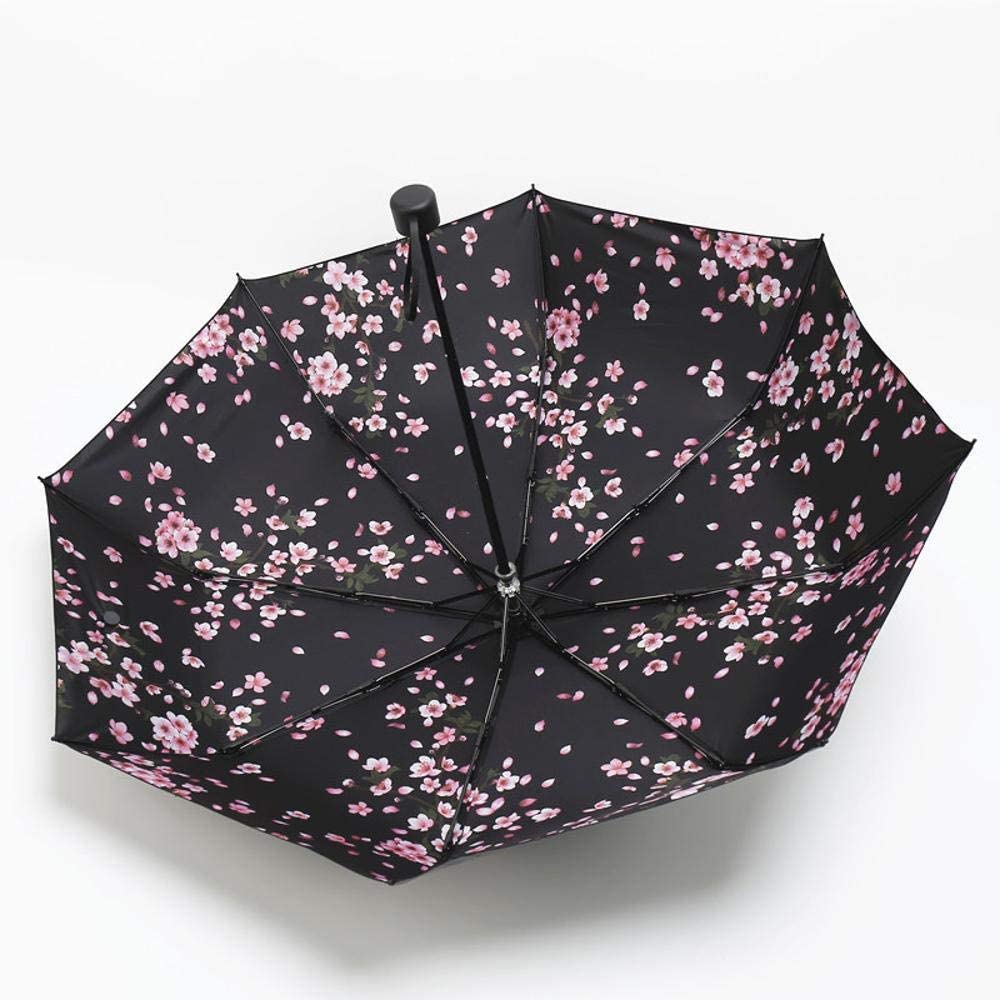 TtKj Folding Umbrella Creative Folding Sunshade Ultra Light Sun Sunscreen Clear Umbrella 5896cm