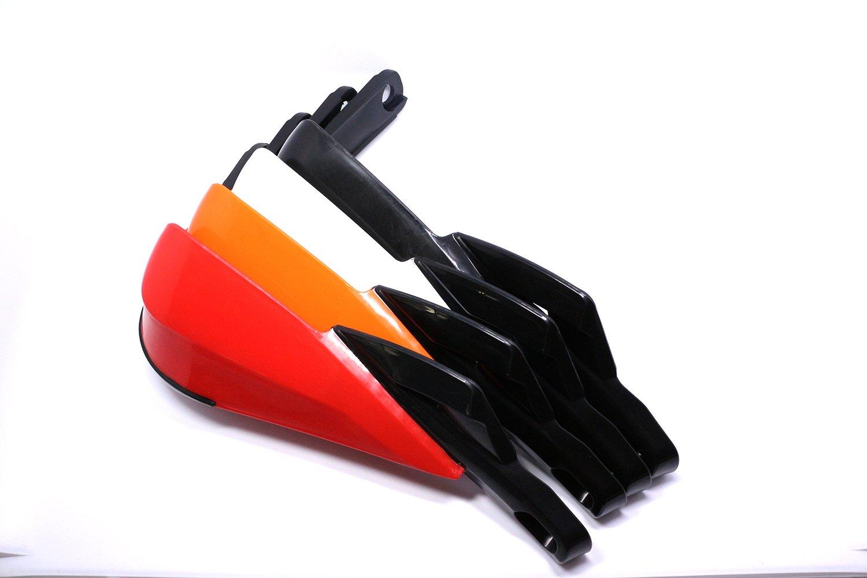 Prot/ège mains pour guidon en aluminium 22 mm-28 mm pour motos