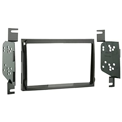 Metra 95-7326 Double DIN Installation Kit for 2007-up Hyundai Elantra Vehicles (Black): Car Electronics