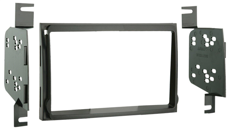 Metra 95-7326 Double DIN Installation Kit for 2007-up Hyundai Elantra Vehicles (Black) Metra Electronics Corporation