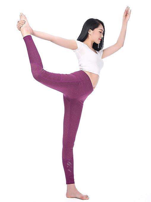 JFCUICAN Pantalones de Yoga de Cintura Alta para Mujeres ...