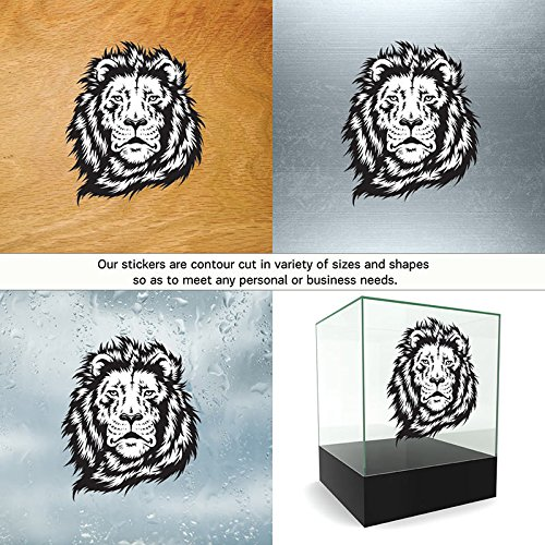 Review Decal Stickers Lion Head