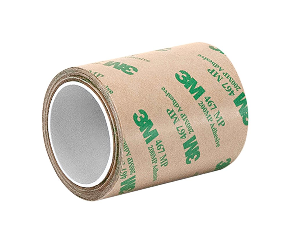 TapeCase 1.5-20-467MP High Performance Adhesive Transfer Tape, Converted from 3M 467MP, 1.5' x 20 Yard Roll 1.5 x 20 Yard Roll