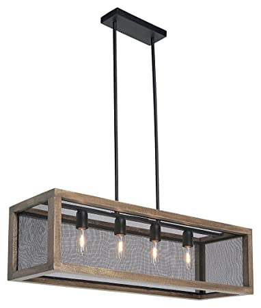 Delightful Signature Design By Ashley L000588 Jodene Pendant Light, Brown/Black