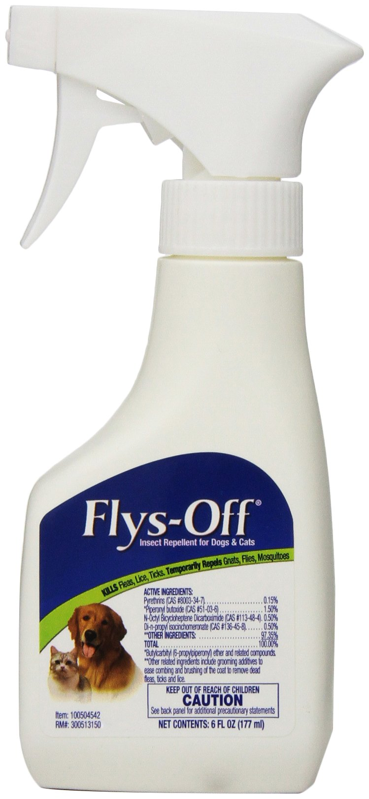 Flys-Off Insect Repellent for Dogs & Cats, 6 fl oz by Farnam