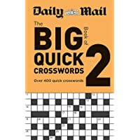 Daily Mail Big Book of Quick Crosswords Volume 2 (The Daily Mail Puzzle Books)