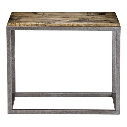 Fine Amazon Com Ethan Allen Borough End Table Silverado Creativecarmelina Interior Chair Design Creativecarmelinacom