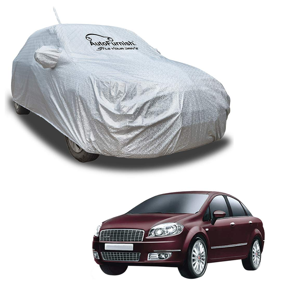JAGUAR XF ALL YEARS PREMIUM HD FULLY WATERPROOF CAR COVER COTTON LINED