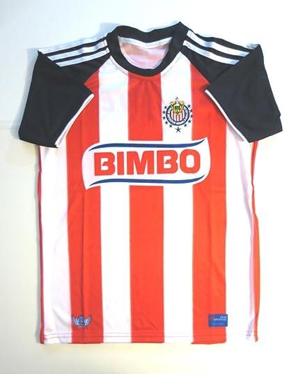 half off 87b0b 503dc Amazon.com : AGMAR Chivas DE Guadalajara Youth Soccer Jersey ...