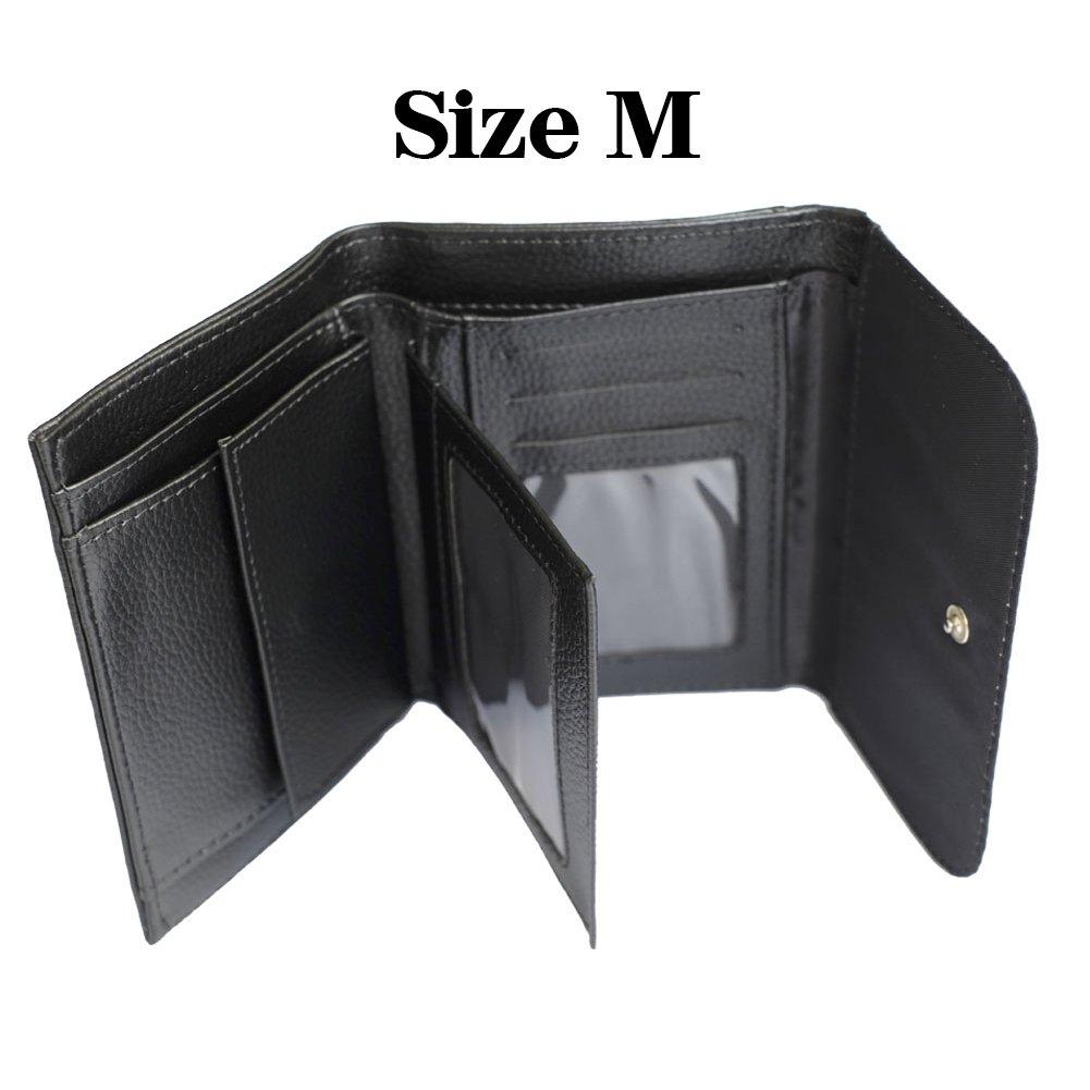 YEX Men's Basketball Design Name Custom Leather Wallet Stylish Size S