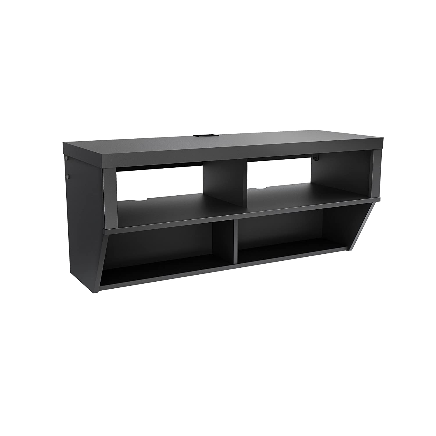 Amazoncom Black 42 Wide Wall Mounted AV Console Series 9