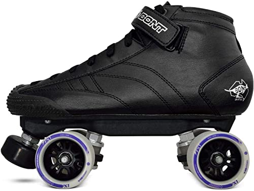 Bont Skates Prostar Roller Derby Skate Package Indoor Quad Speed Vegan Friendly Youth – Adult