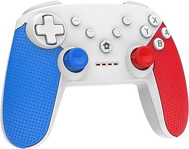 Controlador Momen Switch Pro para Nintendo, inalámbrico, Bluetooth, Mando para Gamepad inalámbrico con Dual Shock Gaming y Nintendo Switch Gyro Axis Switch para Nintendo: Amazon.es: Informática