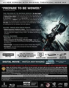 The Dark Knight (Ultra HD/BD) [Blu-ray] at Gotham City Store