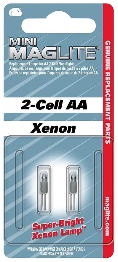 Mag Lite LM2A001 Xenon Ersatzleuchtmittel Fur Maglite AA Amazonde Beleuchtung