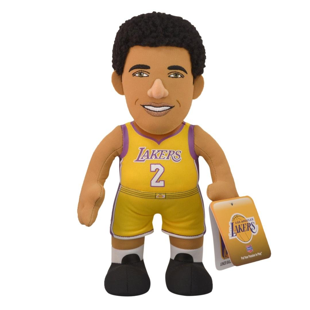 Bleacher Creatures Poupluche (Bambola di peluche) Lonzo Ball - Los Angeles Lakers - Icon Maglia