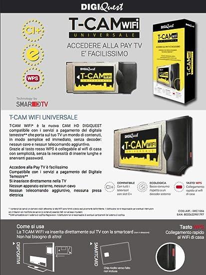 Premium Smart Cam Mediaset solo Cam no tarjeta apta para ...