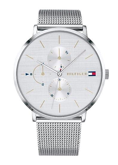 Tommy Hilfiger Reloj Multiesfera para Mujer de Cuarzo con Correa en Acero Inoxidable 1781942