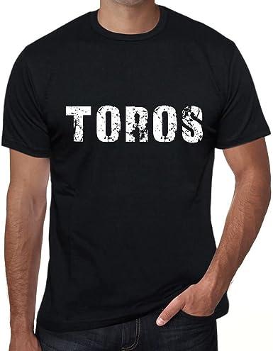 One in the City Toros Hombre Camiseta Negro Regalo de Cumpleaños 00553: Amazon.es: Ropa y accesorios