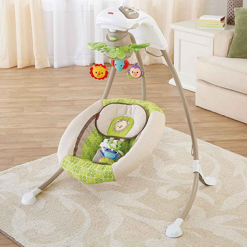 Fisher Price Deluxe Cradle 39 N Swing