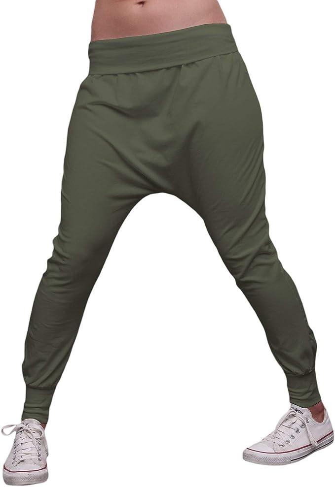 MForshop 00283 - Pantalón de chándal para Mujer Verde Militar ...