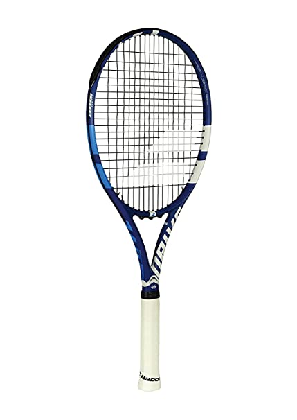 "Babolat Drive G Lite Black/Blue/Grey Recreational Tennis Racquet (4"" Inch"