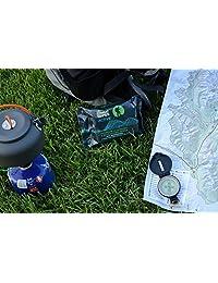 Toallitas de combate al aire última intervensión 100% biodegradable Limpieza activa y refrescante Toallitas Húmedas, 25 ct por pack